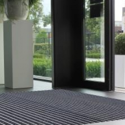 Aluminium entrance mat