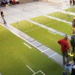 Curling op tapijt