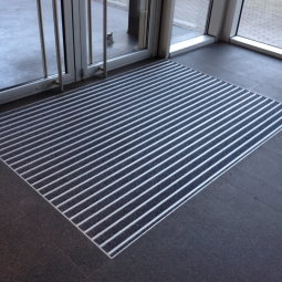 Entrance mat in Belgium