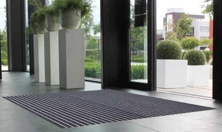 Tapis d'entrée Alubrush Indoor
